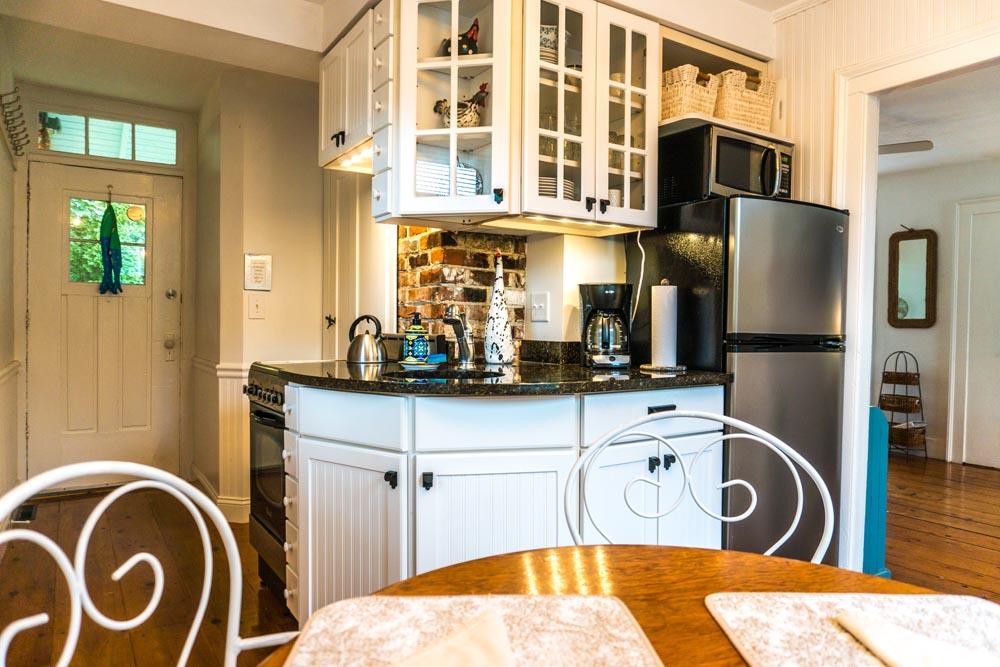 Mystic Arbor Cottage Kitchen